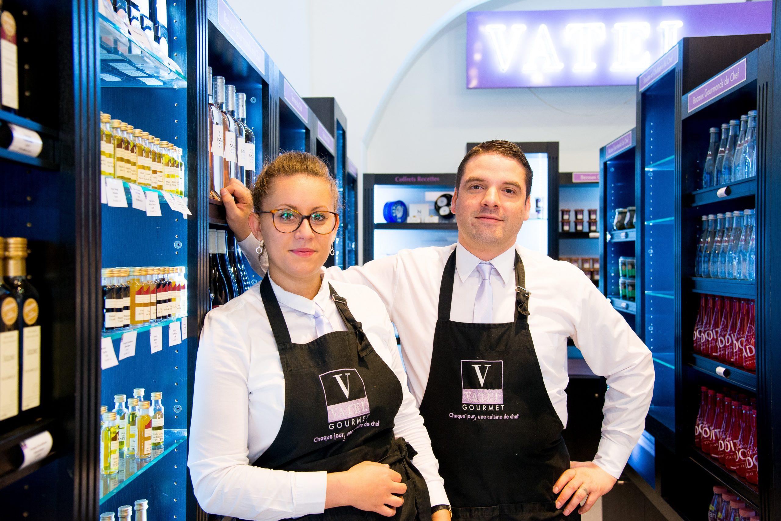 Equipe boutique Vatel Gourmet Carnot Lyon