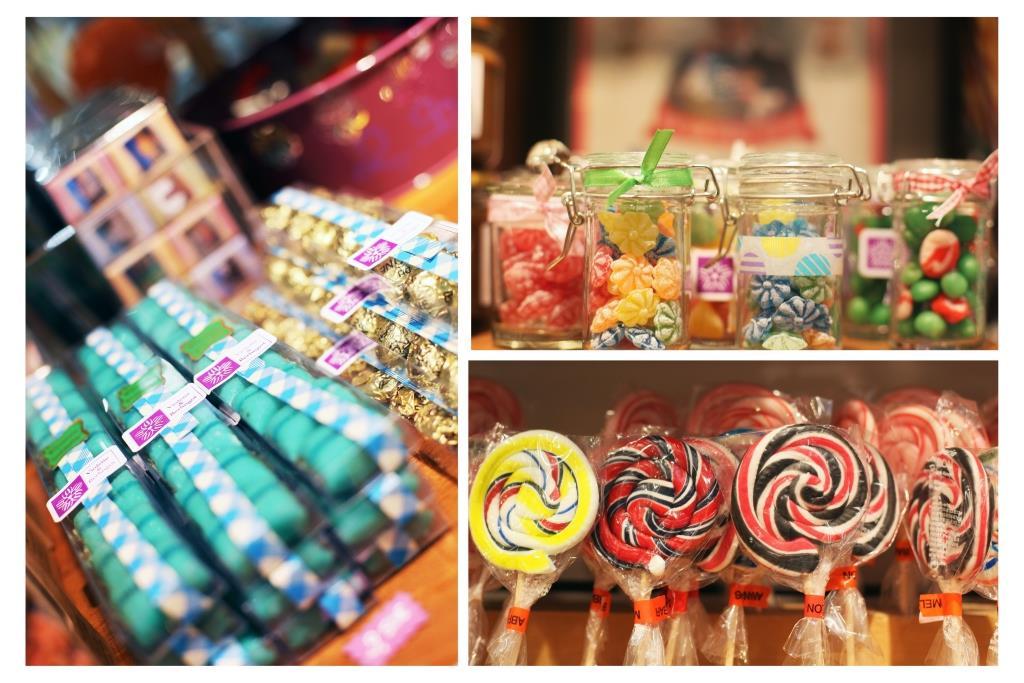 composition bonbons chez Violette et Berlingot à Lyon