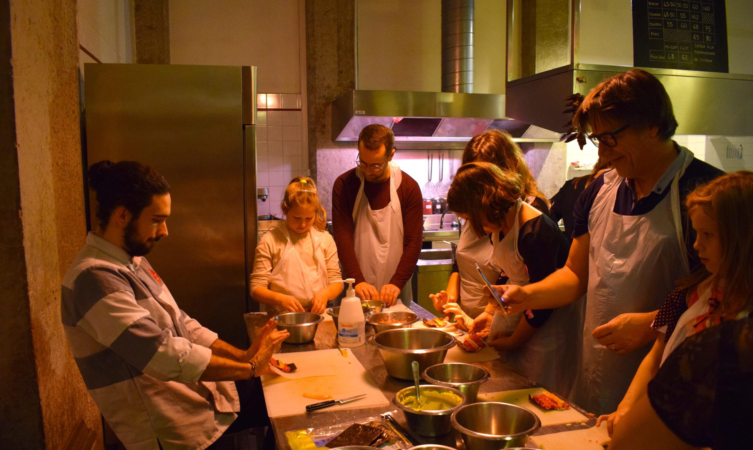 cours cuisine l'atelier des chefs lyon
