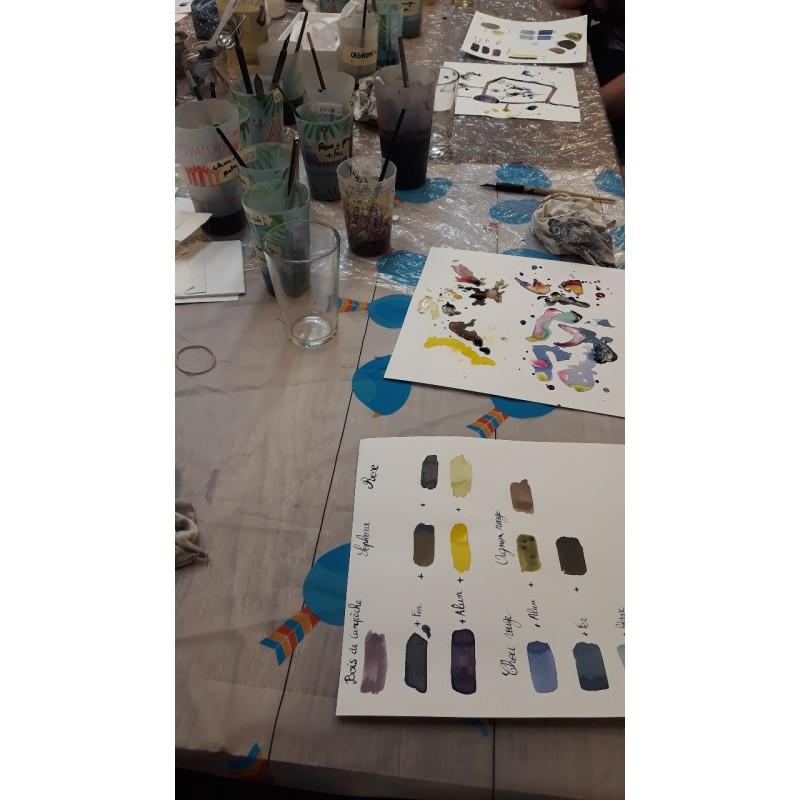 Atelier teinture végétale L'effet canopée