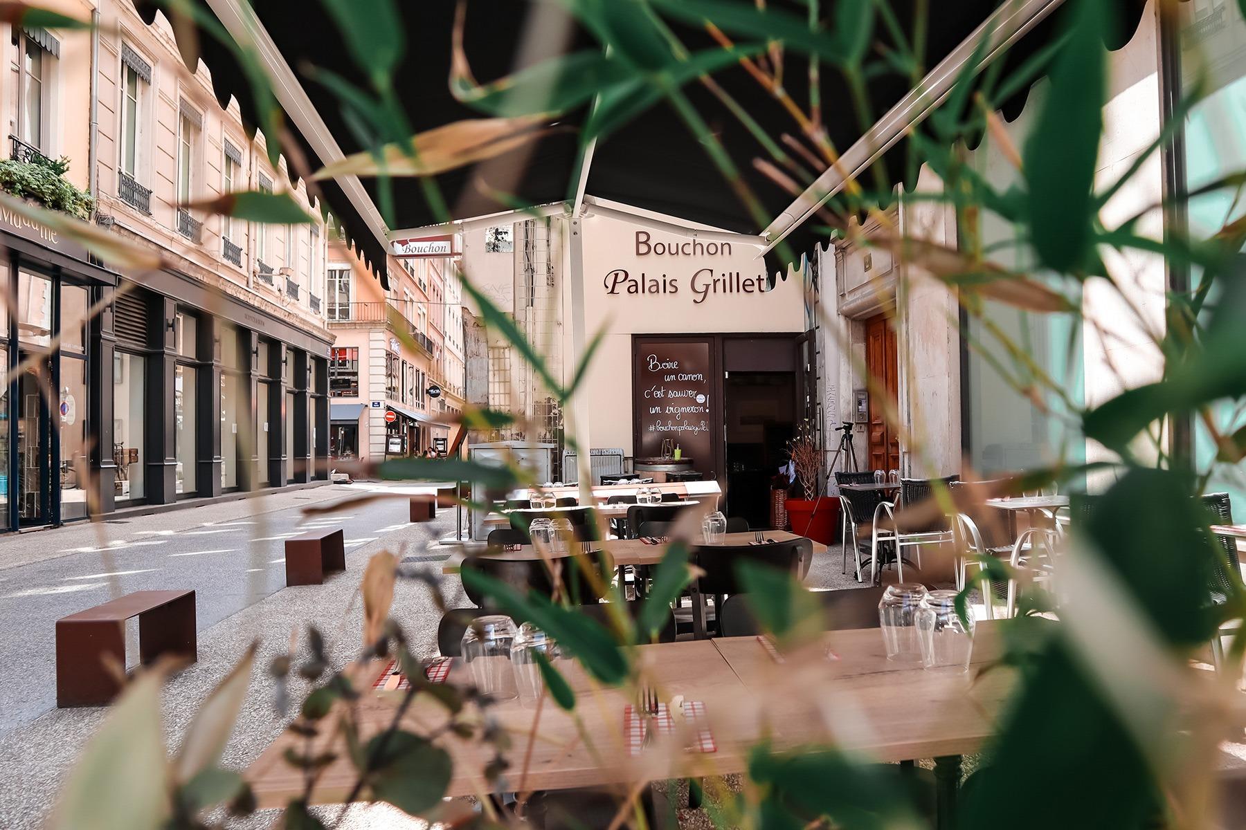 Terrasse Bouchon Palais Grillet