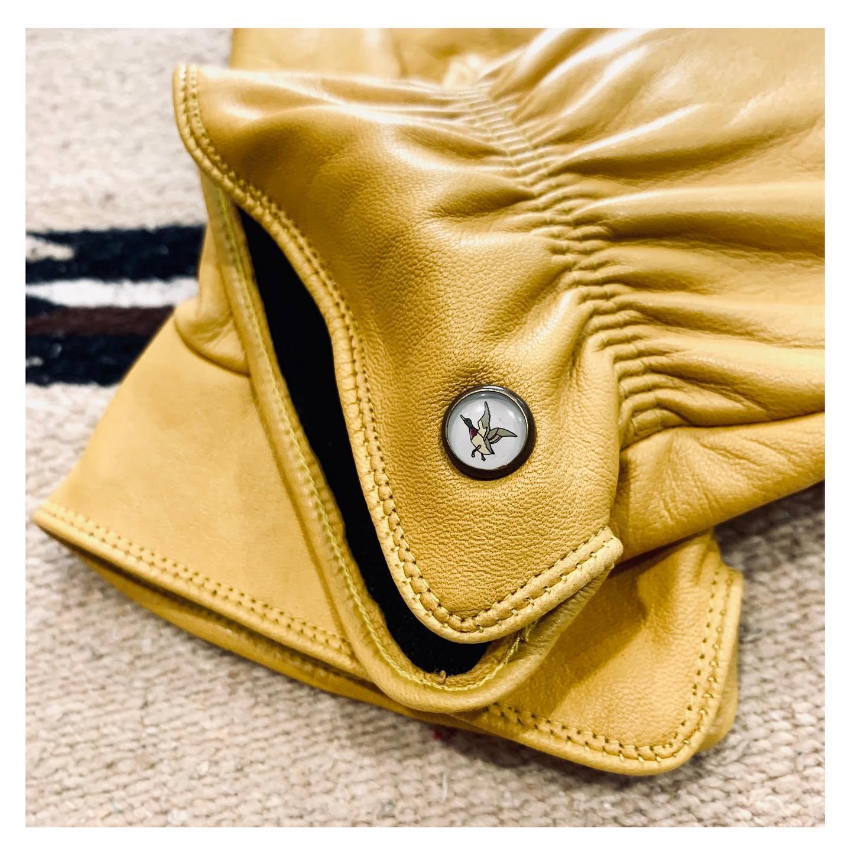 gants cuir canard chevignon