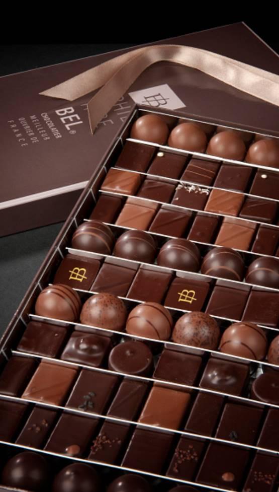 coffret chocolats Philippe Bel MOF Lyon 2