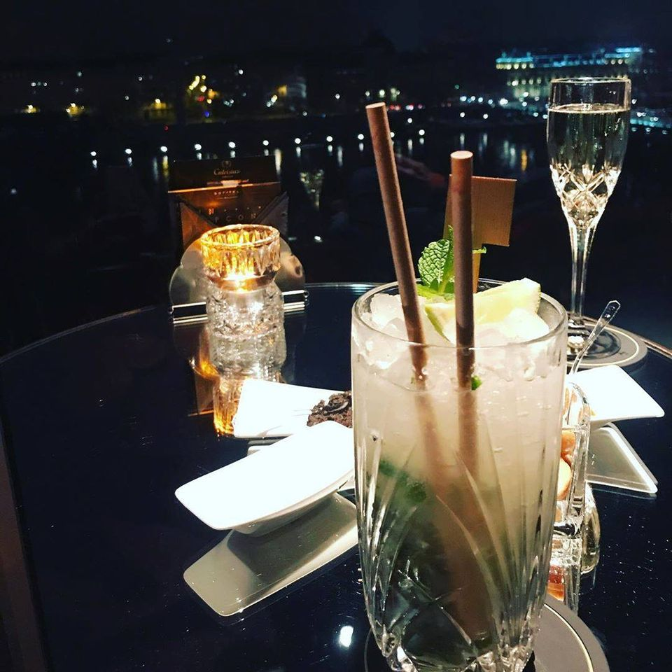 cocktail au Mehlor Hôtel Sofitel Lyon Bellecour