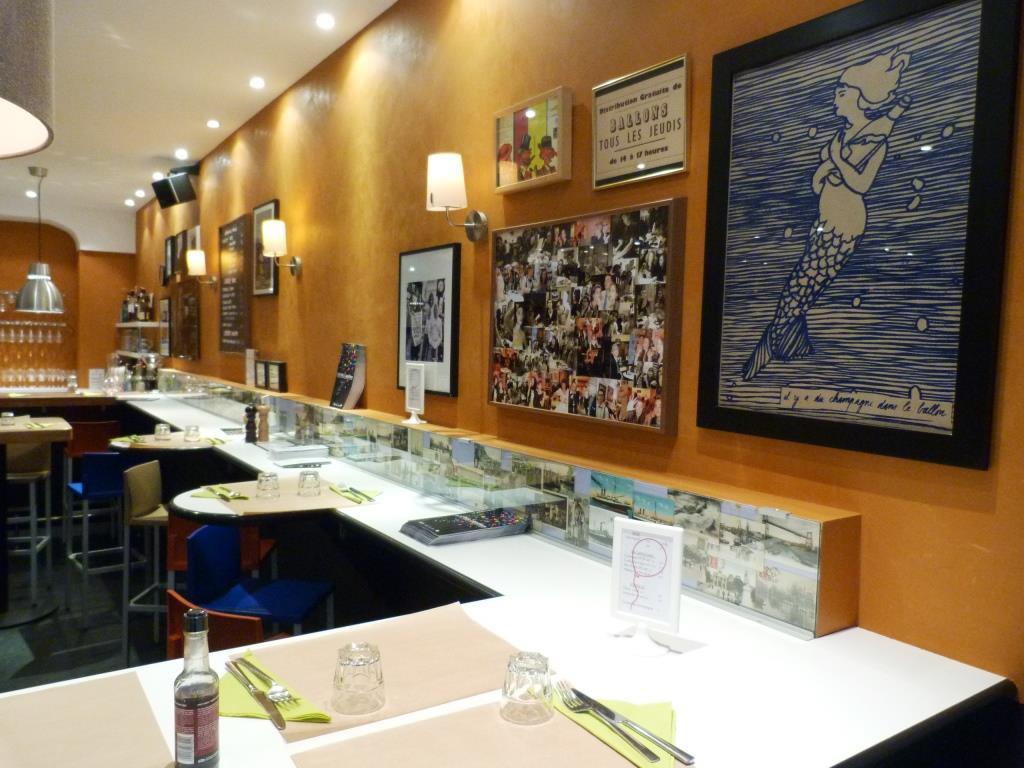 Intérieur restaurant Le Ballon Lyon 2