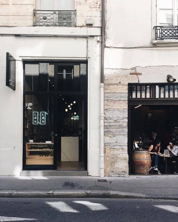 Vitrine boutique Loulou Lyon 2