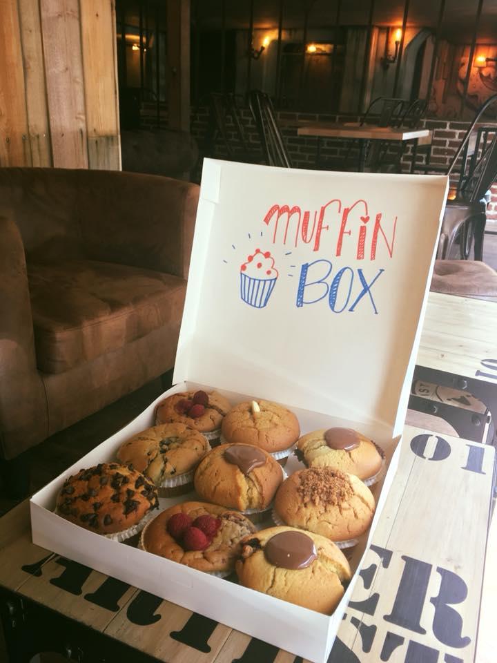 marys coffee shop muffin box Lyon 1er