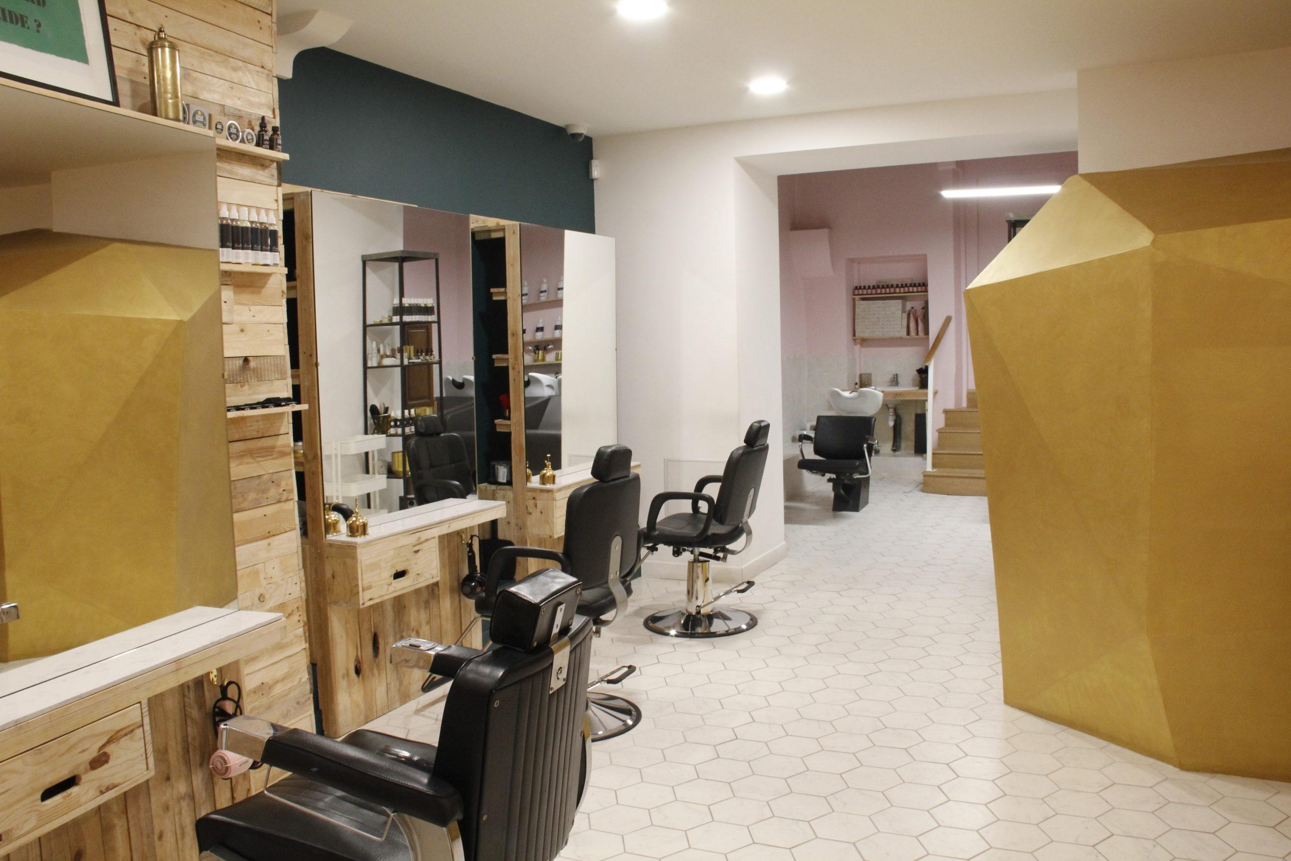 boutique Les Curieux Lyon salon coiffure