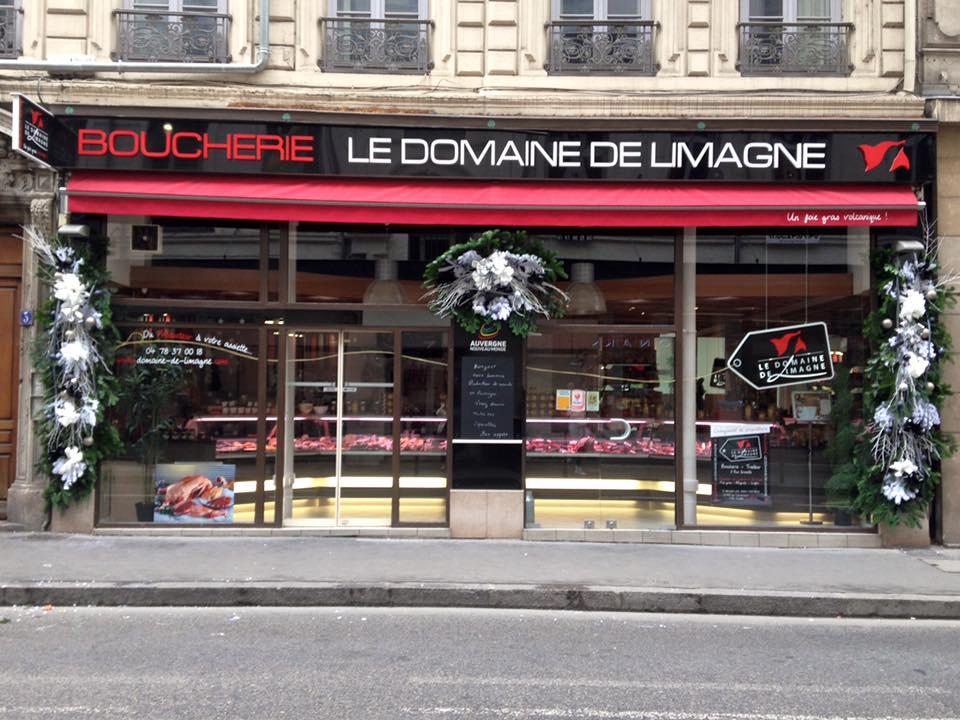 vitrine Le Domaine de Limagne boutique Lyon 2