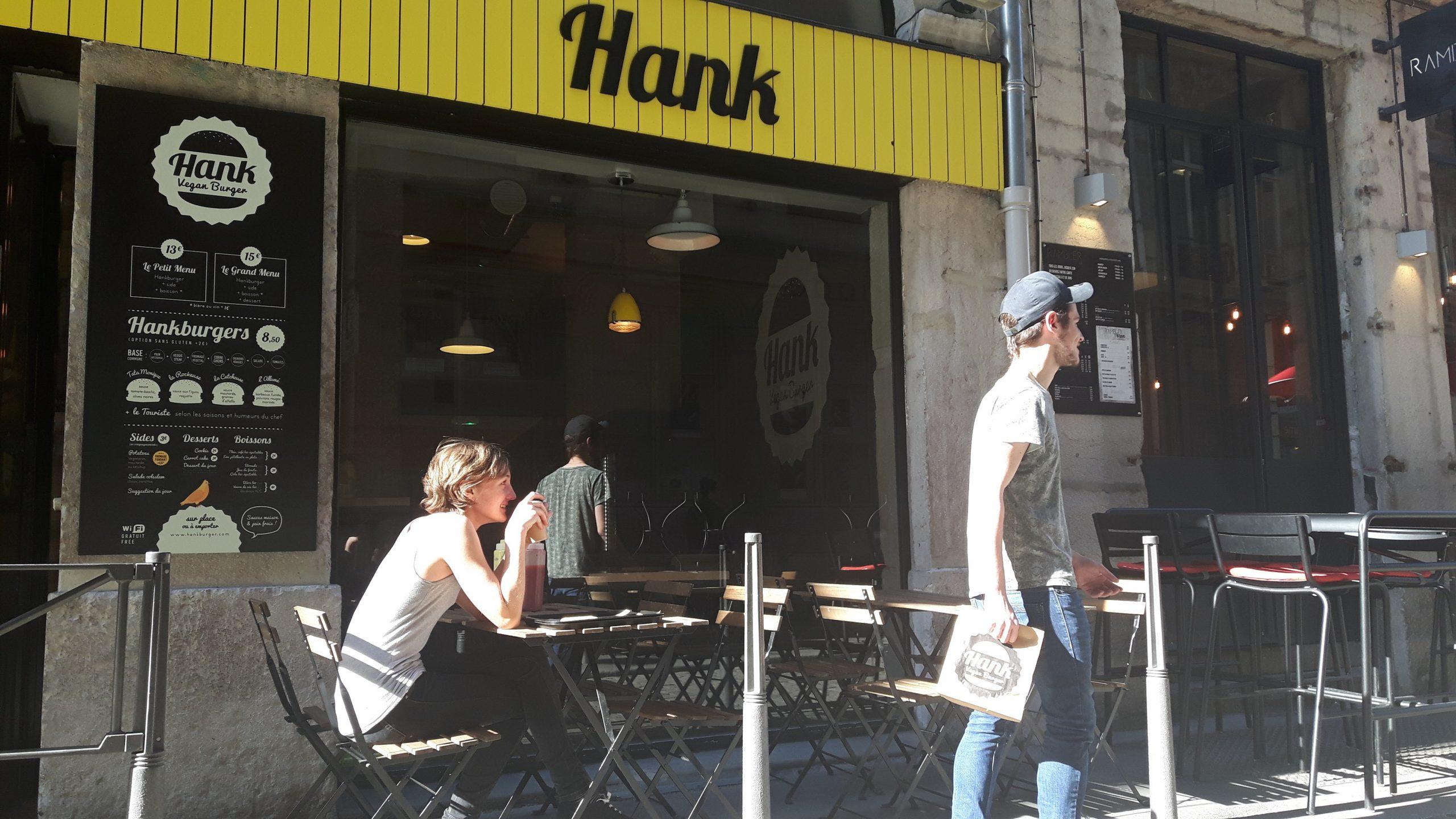 Terrasse Restaurant Hank