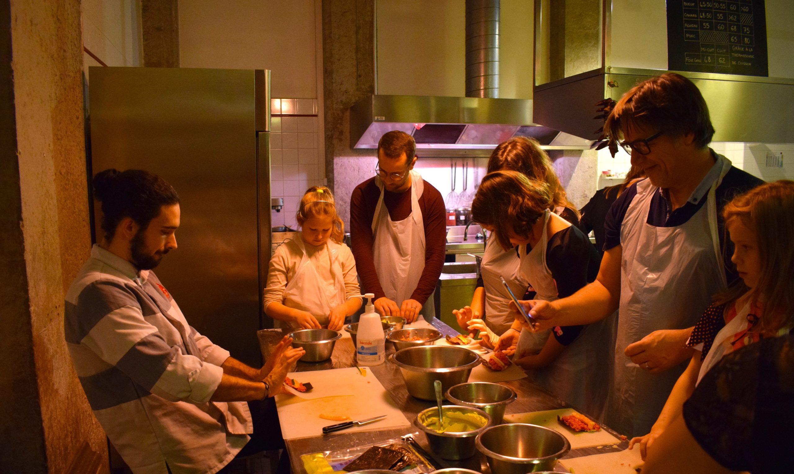 cours cuisine Atelier des chef Lyon 2