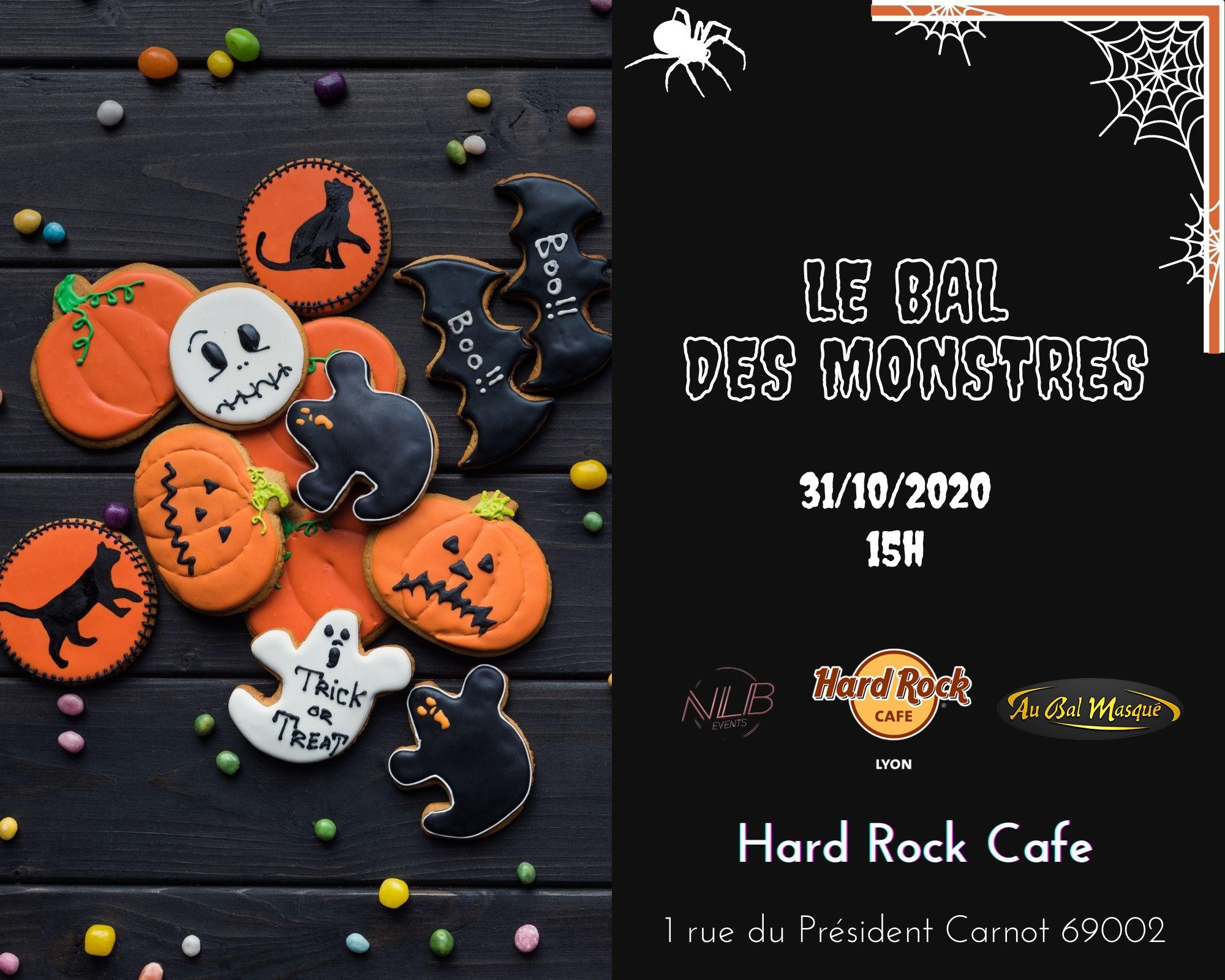 Bal des monstres Hard Rock café Lyon