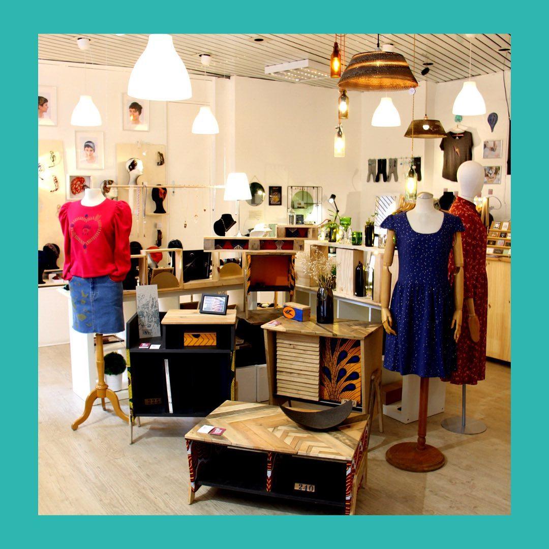 boutique créateurs Les Artpenteuses Lyon 1