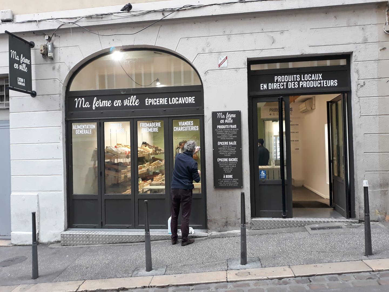 Epicerie Ma Ferme Ville Lyon Terreaux