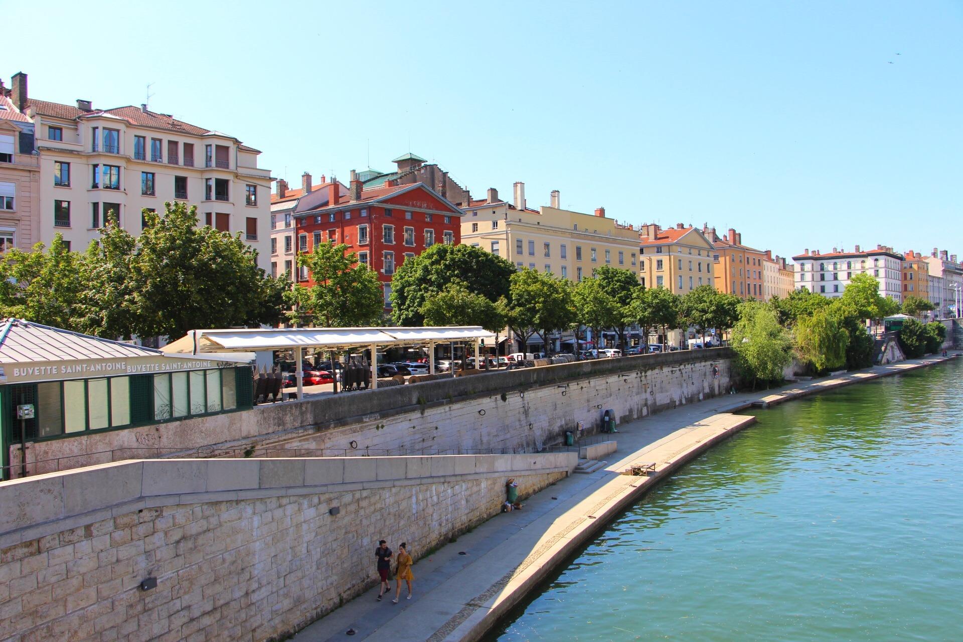 quais de Saône Lyon 2