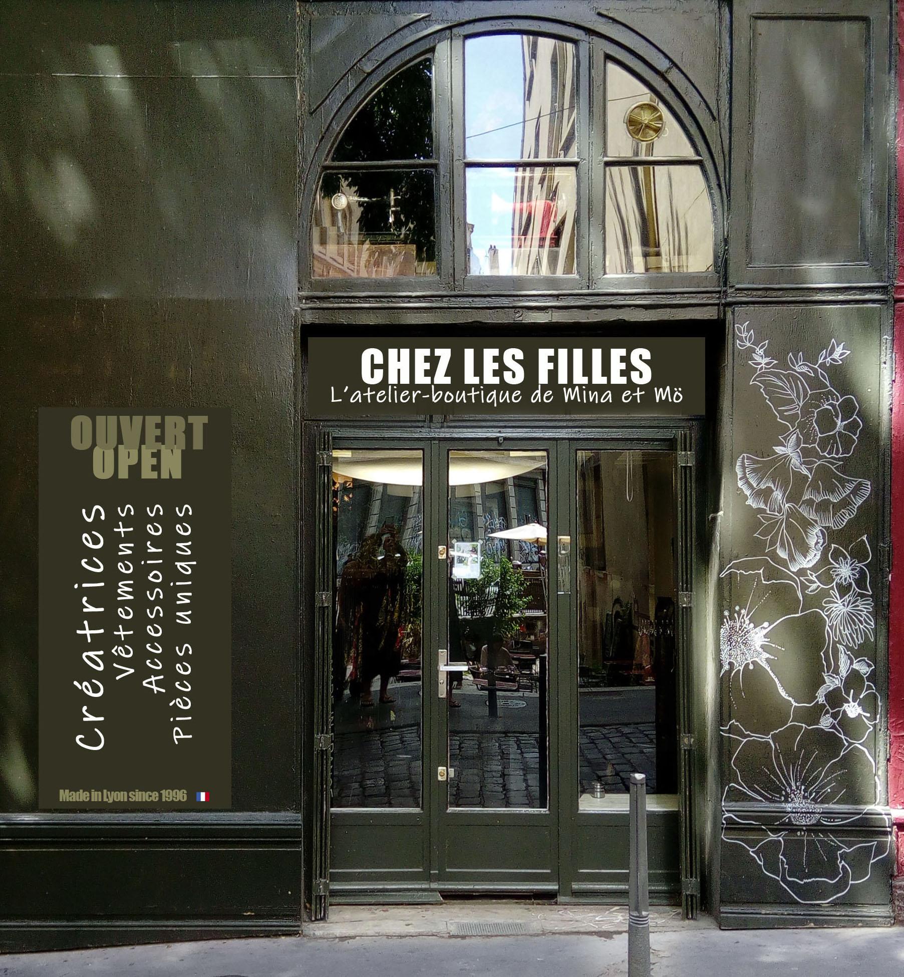 Vitrines Boutique Chez Les Filles Lyon