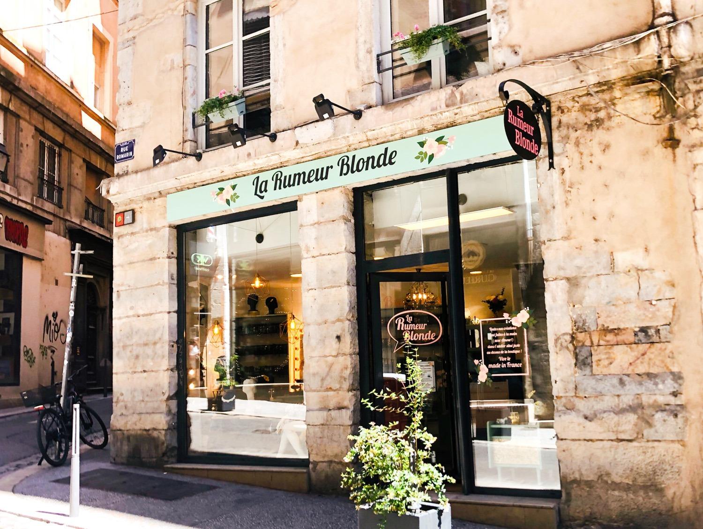 Vitrines La Rumeur Blonde Lyon