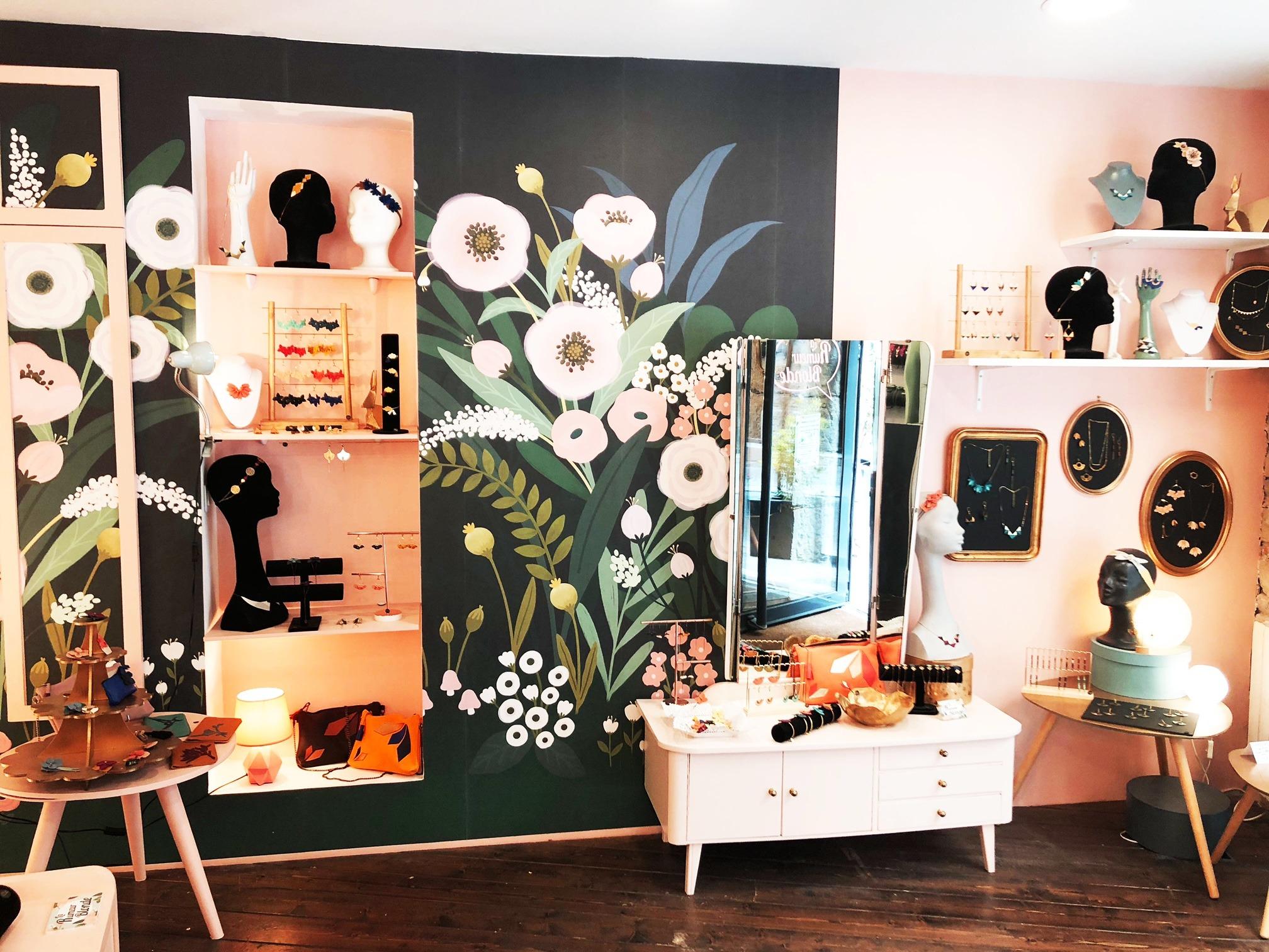 Boutique Vitrines La Rumeur Blonde Lyon