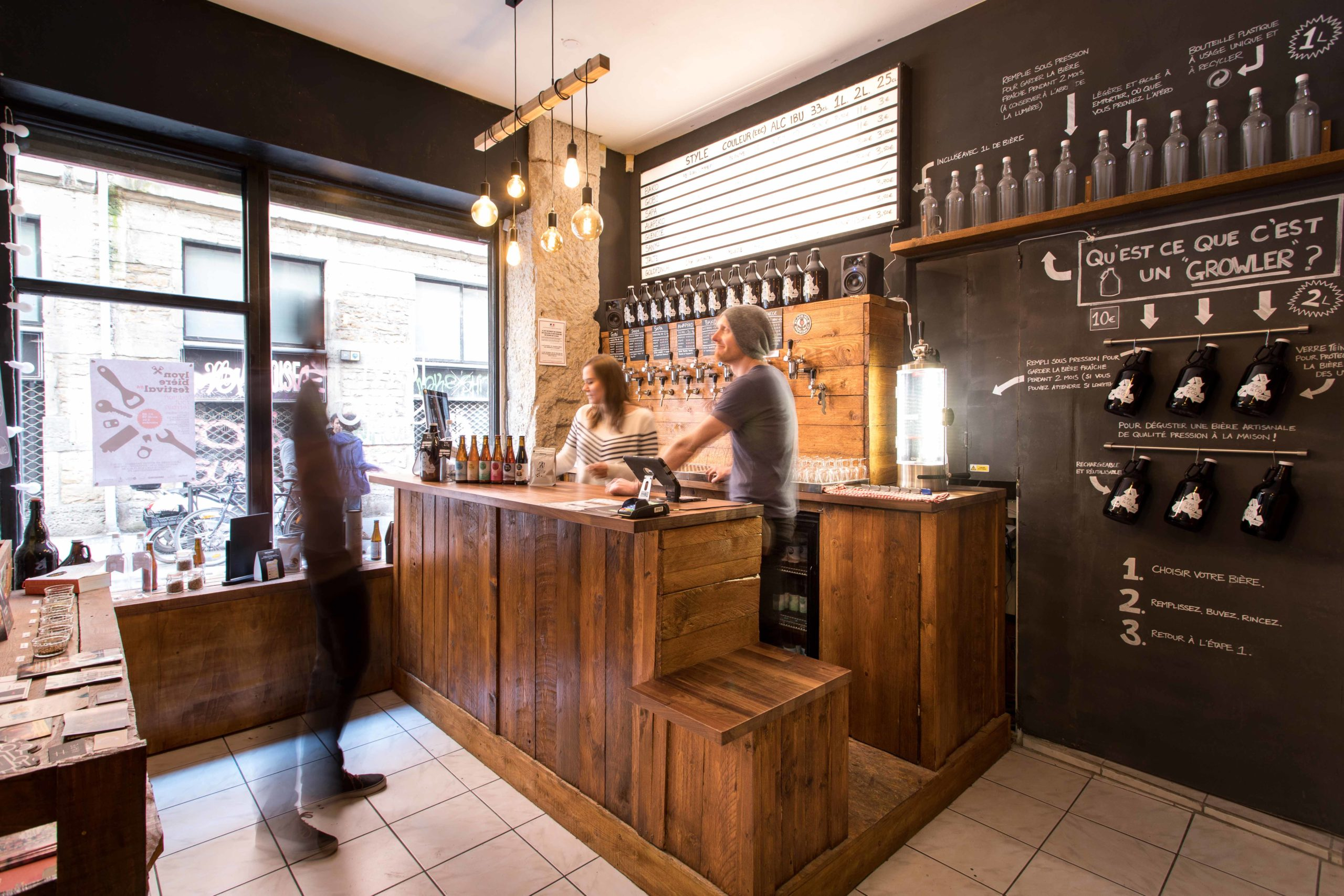 micro-brasserie Lyon 1er comptoir