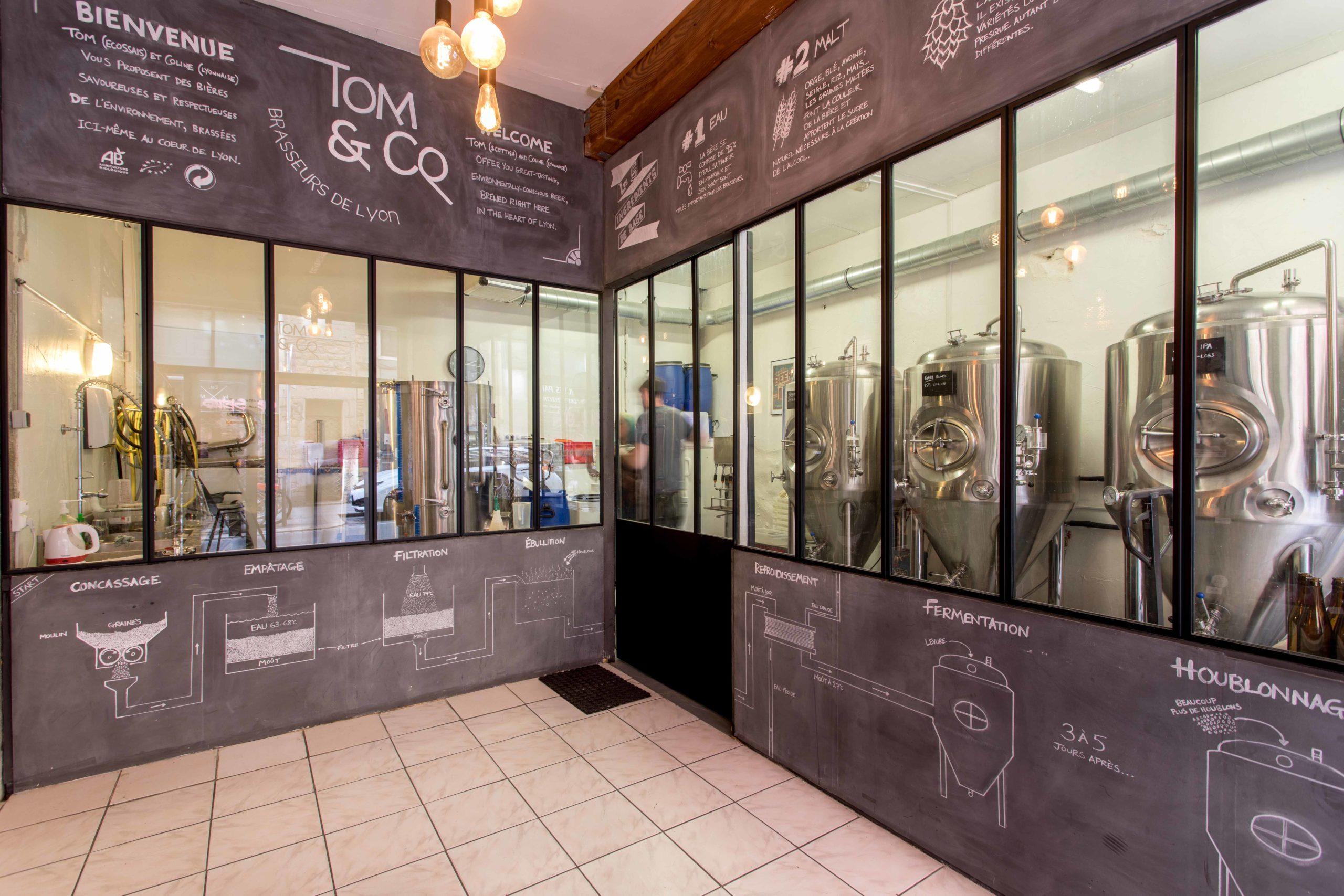 micro-brasserie Lyon 1er atelier fabrication
