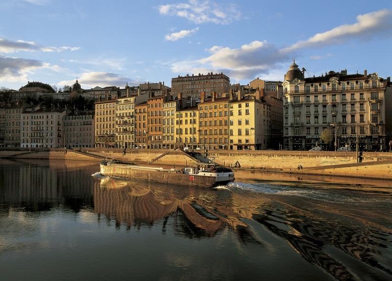 Vue de la Presqu'île de Lyon Crédit T. Deschamps