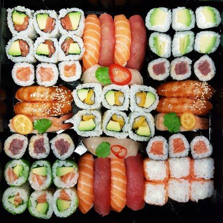 sushis presquile lyon