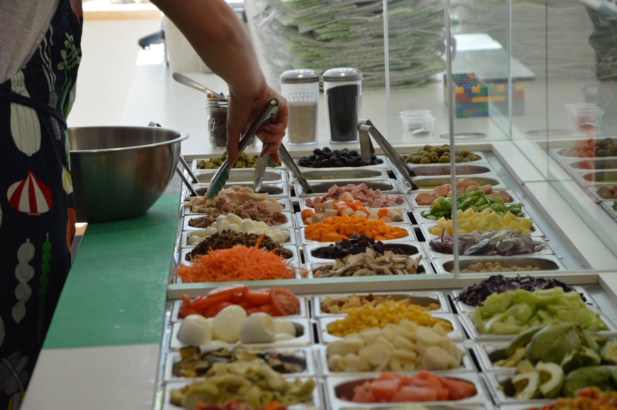 kiwee salade bar lyon