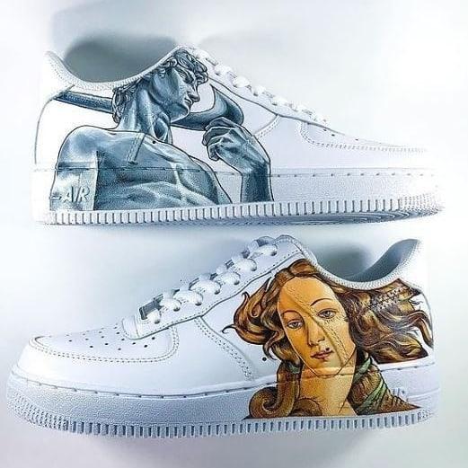 sneakers arts 2000 custome lyon