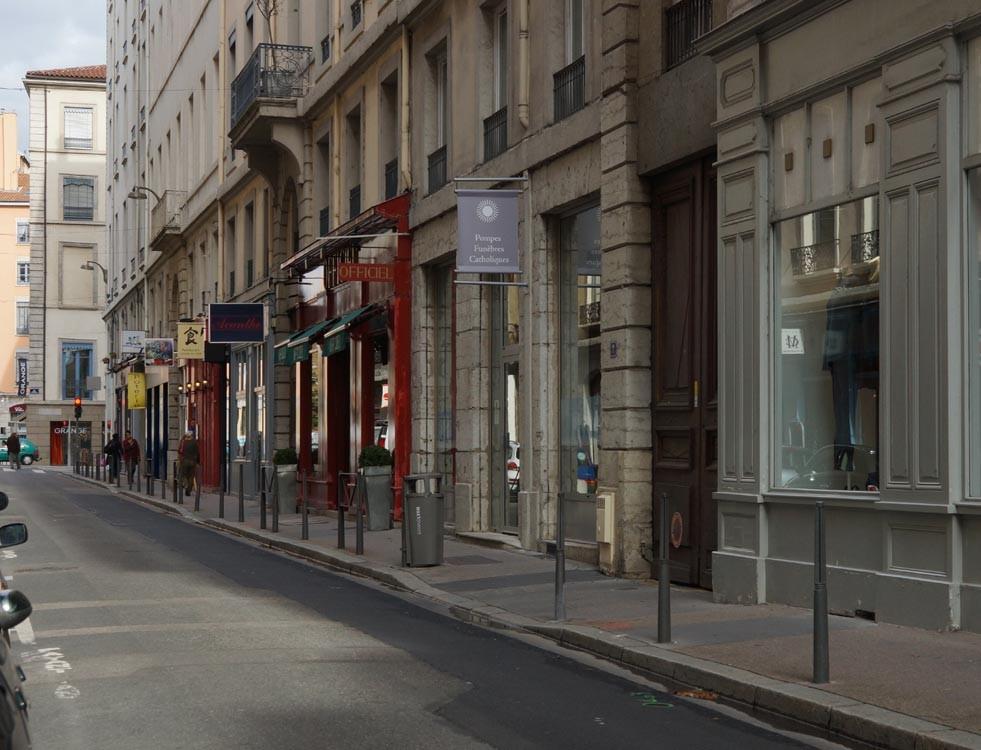 rue du plat lyon presqu'île