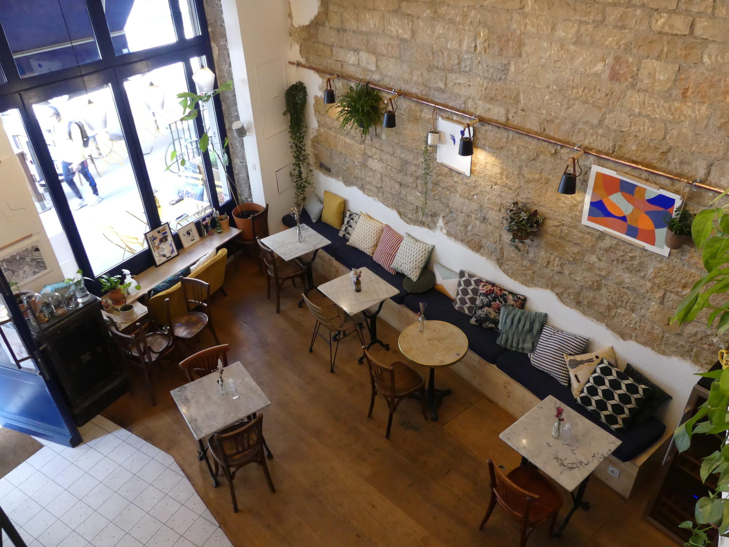 Comme à la maison coffeeshop Lyon