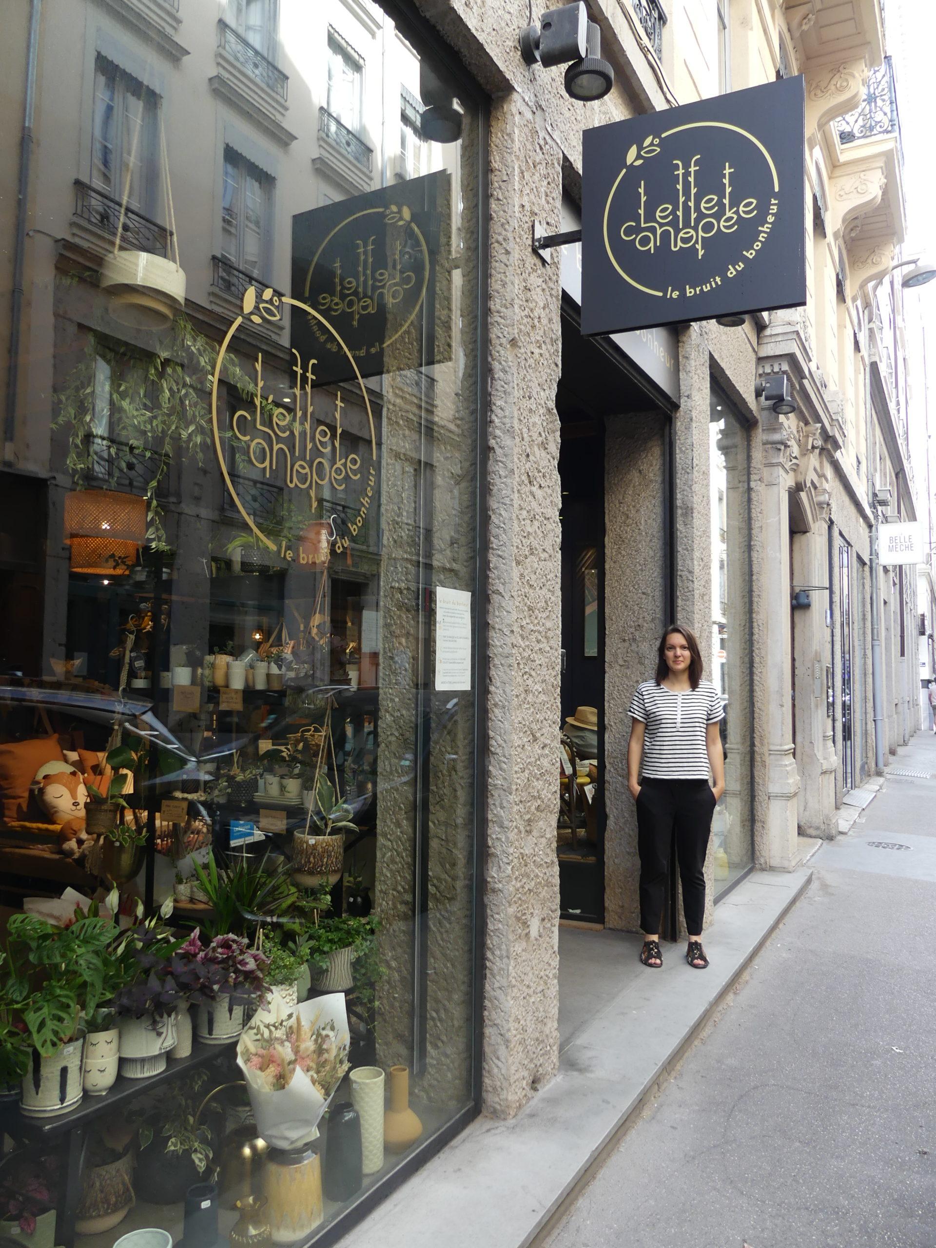 devanture boutique Lyon 2