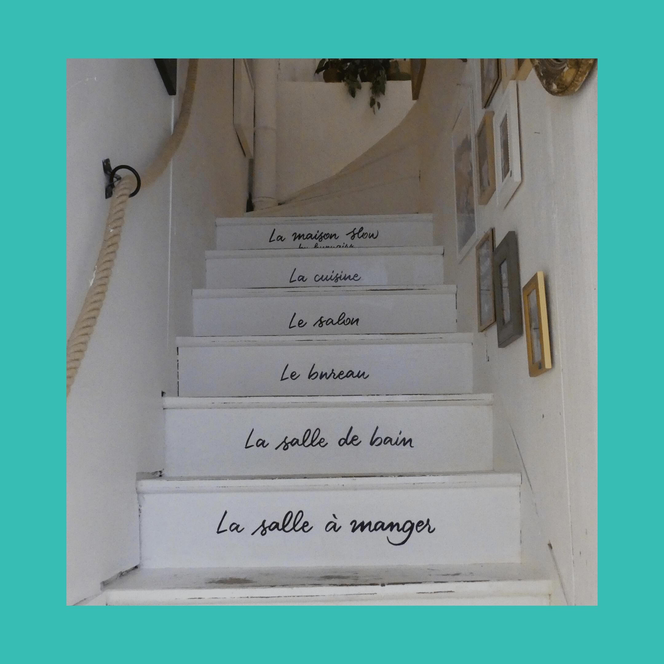escaliers étages Slow Maison