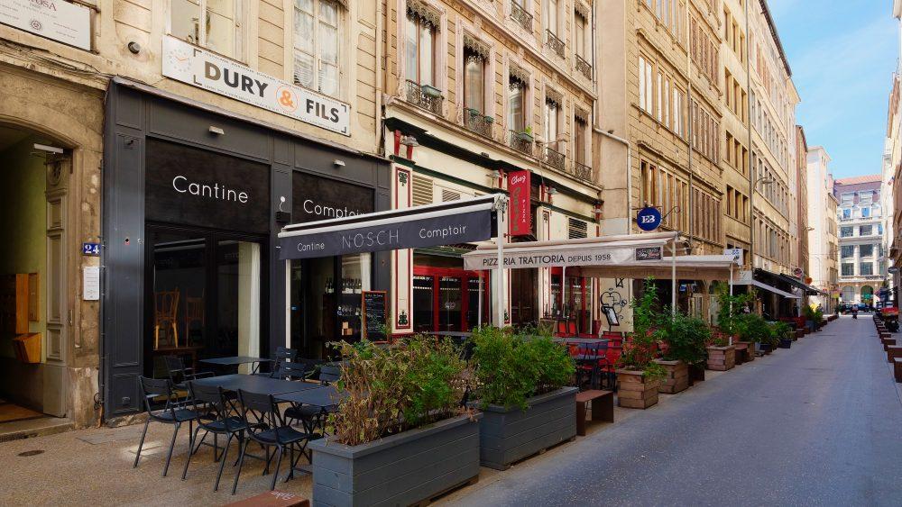 Lyon shopping food
